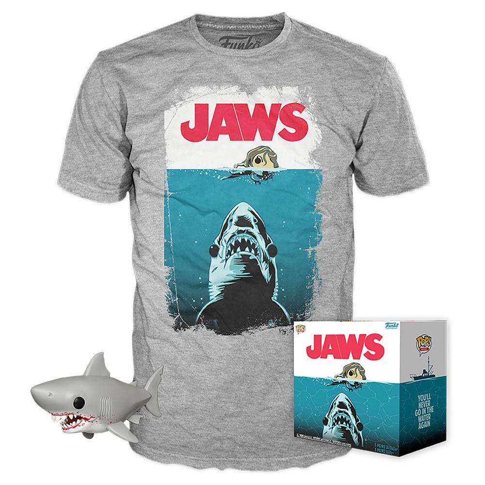 Jaws POP! & Tee Box Night Swim Size L