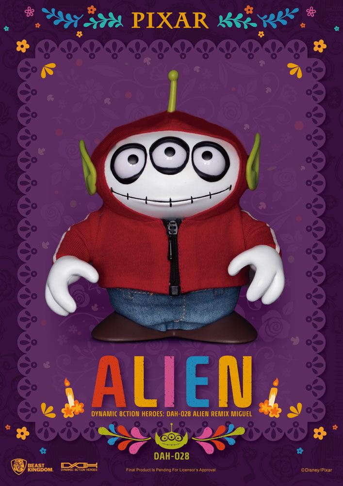 Toy Story Dynamic 8ction Heroes Action Figure Alien Remix Miguel (Coco) 16 cm