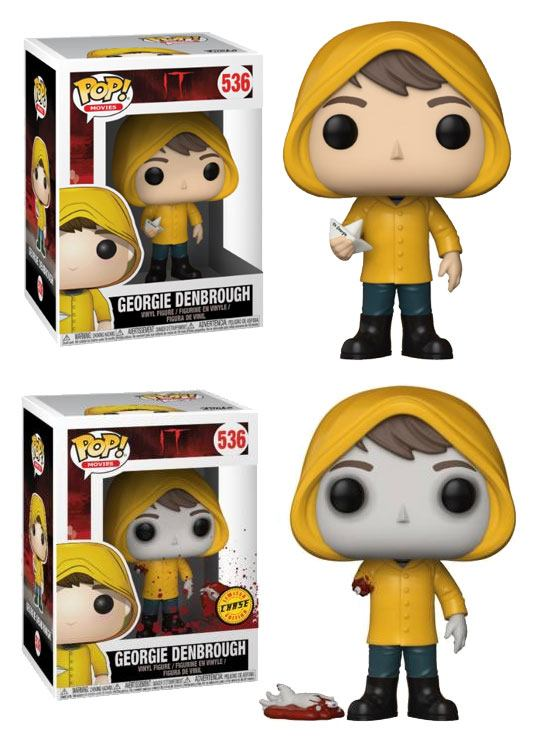 Stephen King's It 2017 POP! Movies Vinyl Figures Georgie Denbrough 9 cm Assortment (6)
