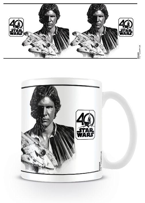 Star Wars Mug 40th Anniversary (Han Solo)