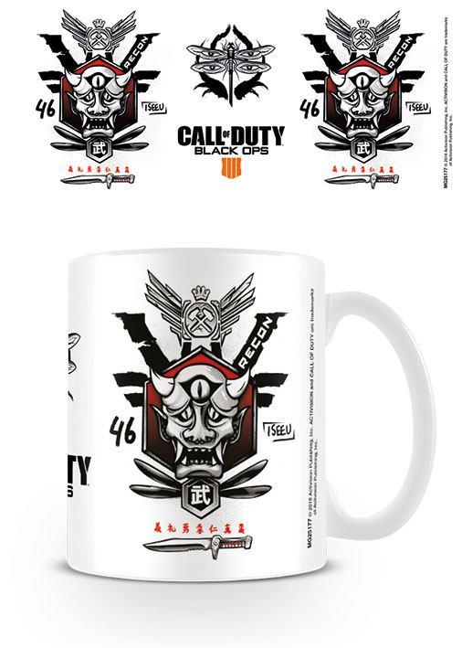 Call of Duty Black Ops 4 Mug Recon Symbol