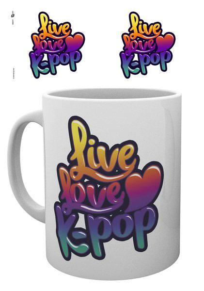 K-Pop Mug Live Love