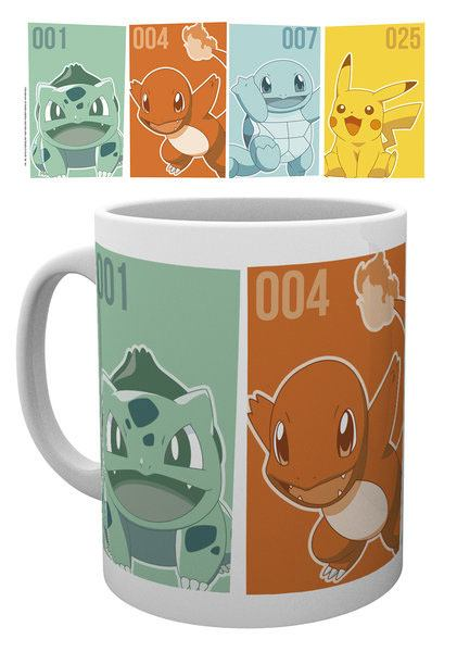 Pokemon Mug Kanto Starters