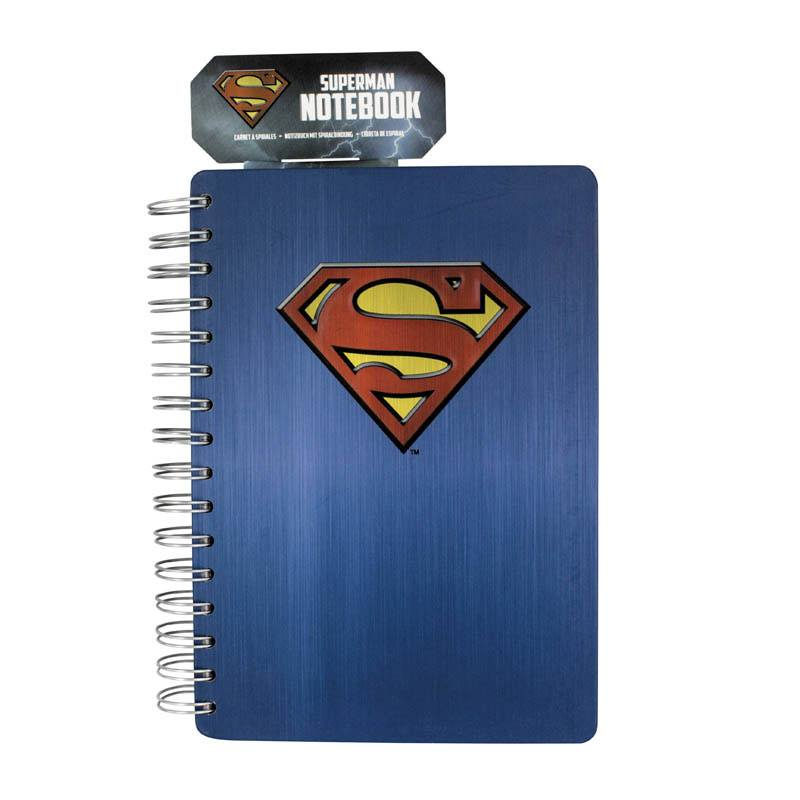 Superman Notebook Logo