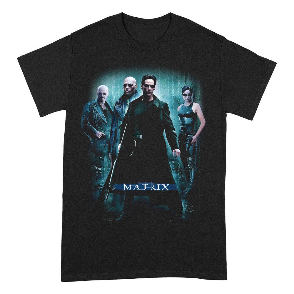 Matrix T-Shirt The Matrix Group Poster Size L