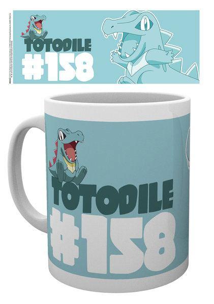 Pokemon Mug Totodile