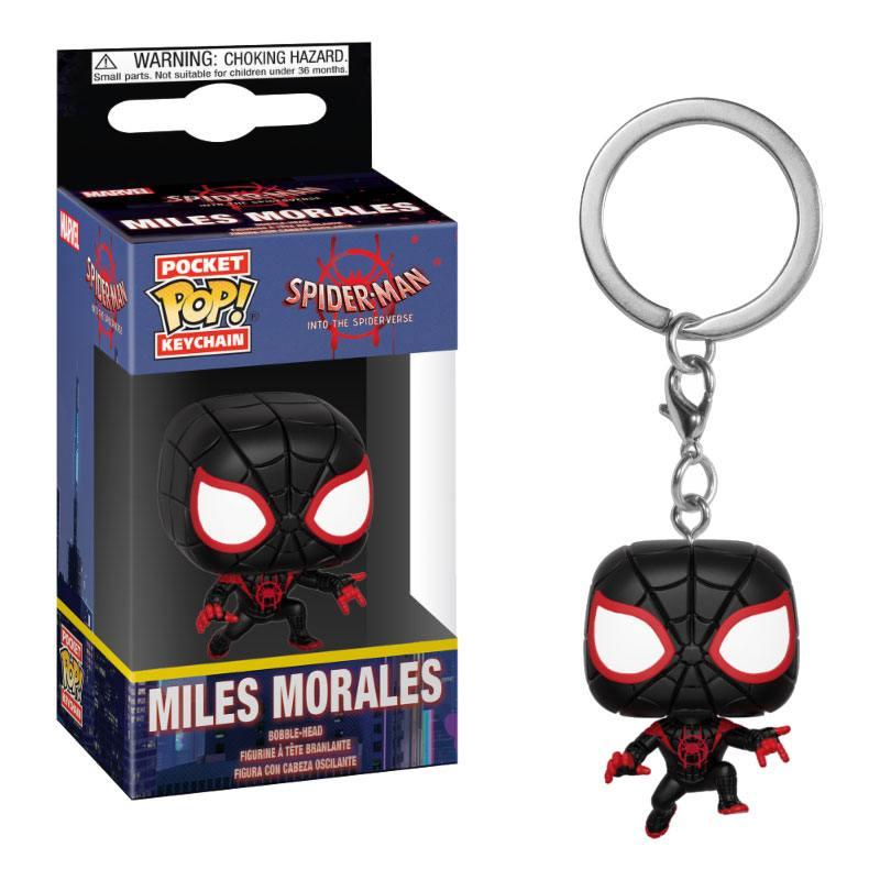 Spider-Man Animated Pocket POP! Vinyl Keychain Spider-Man Miles 4 cm