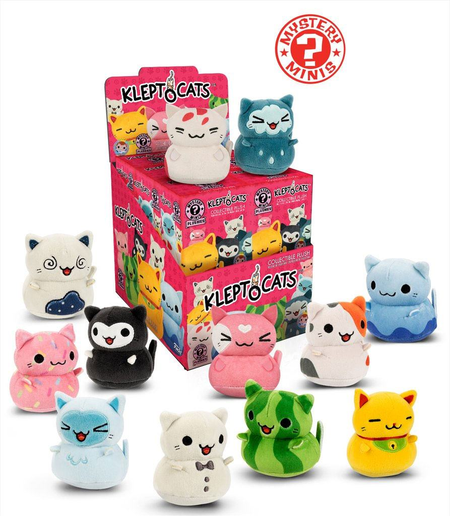 Kleptocats Mystery Mini Plushies Plush Figures 6 cm Assortment (12)