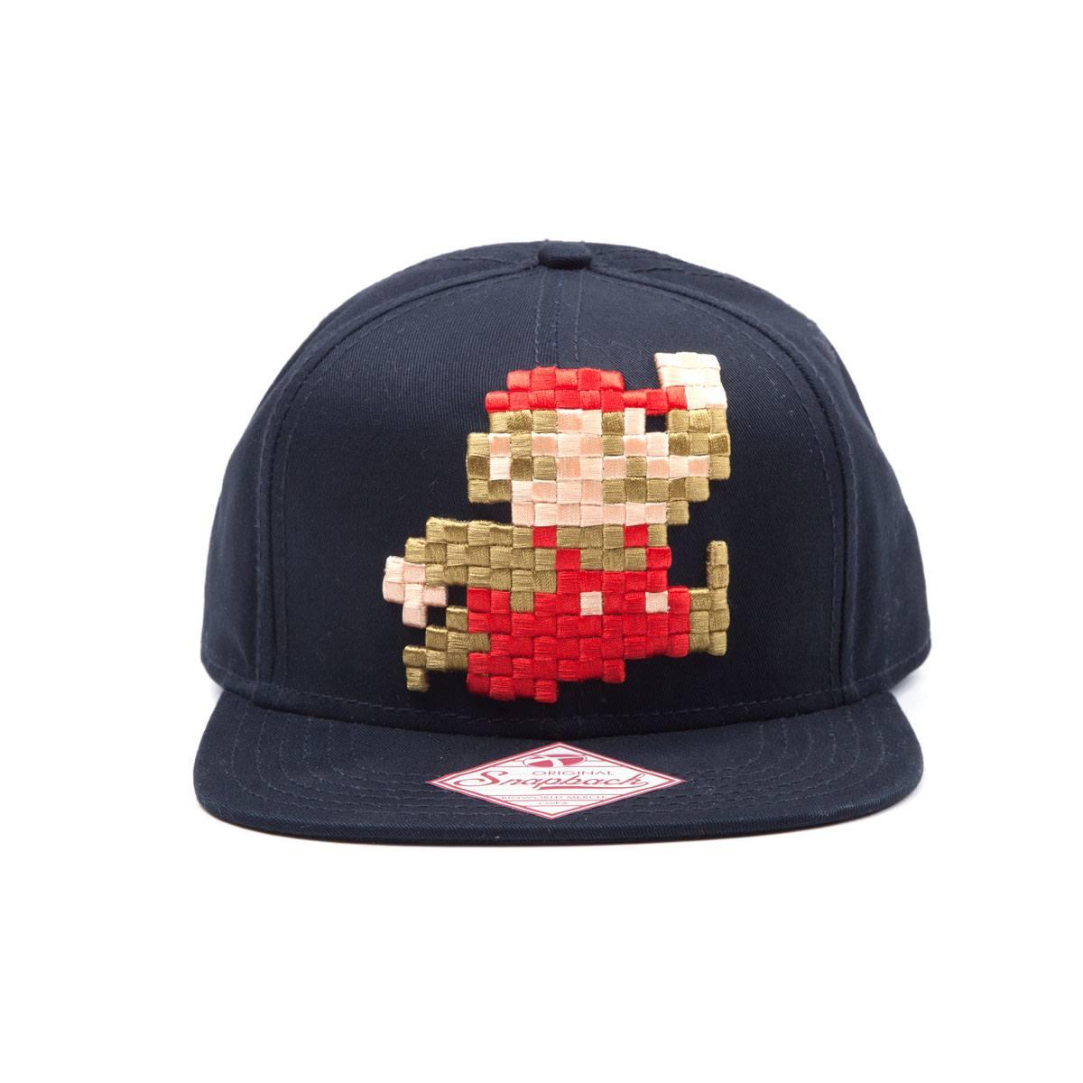 Nintendo Mario 8 Bit Pixel Snapback