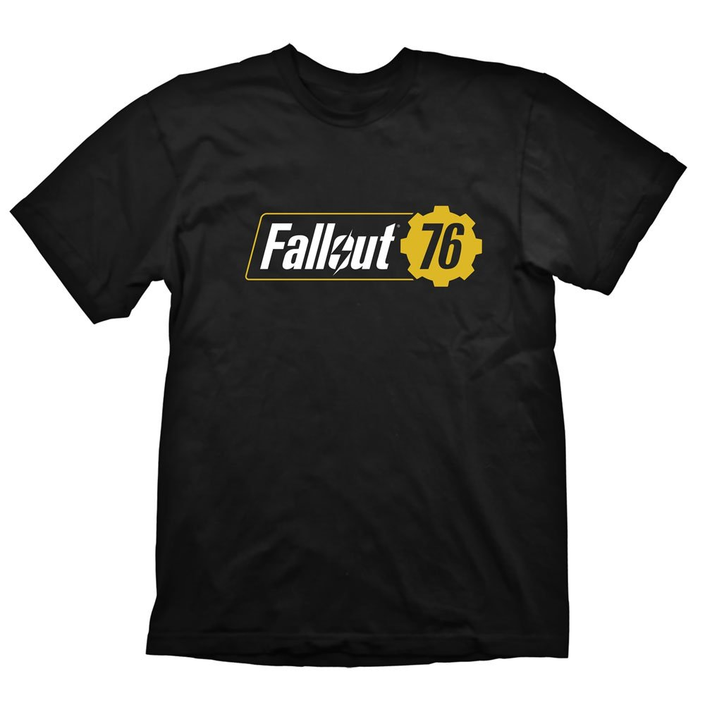 Fallout T-Shirt 76 Logo Size S