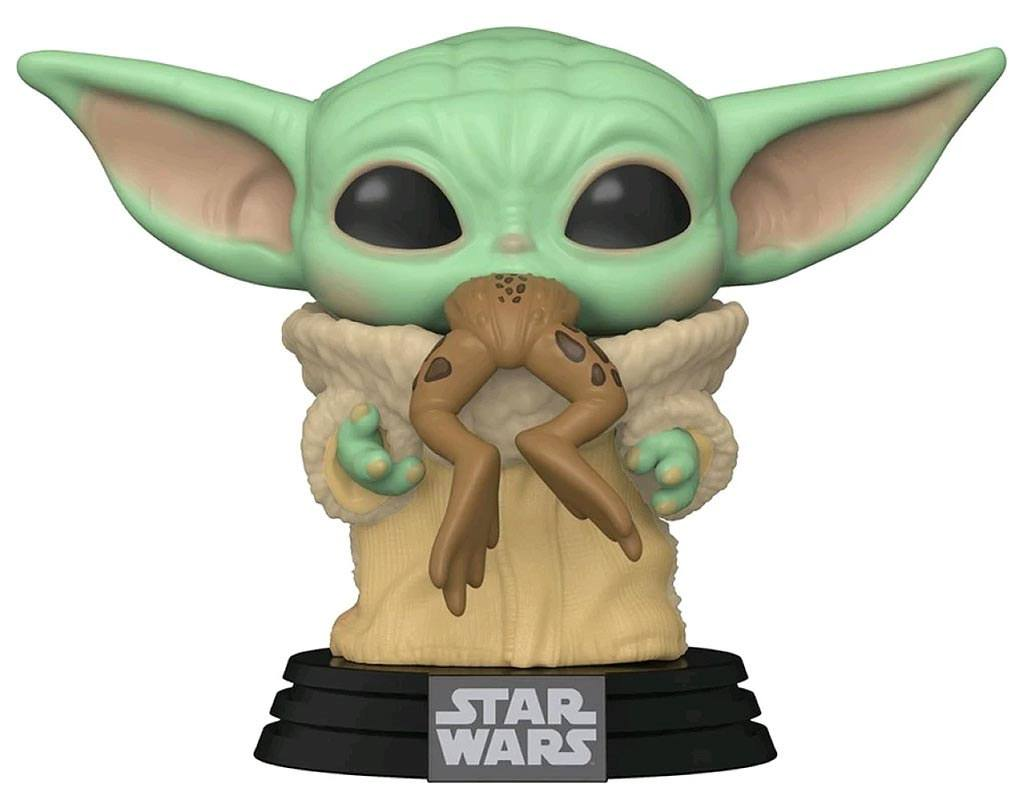 Star Wars The Mandalorian POP! TV Vinyl Figure The Child w/ Frog 9 cm