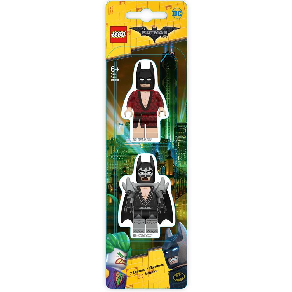 LEGO Batman Movie Mini-Erasers 2-Pack