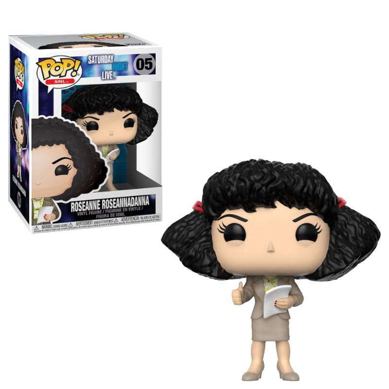 Saturday Night Live POP! TV Vinyl Figure Roseanne Roseannadanna 9 cm