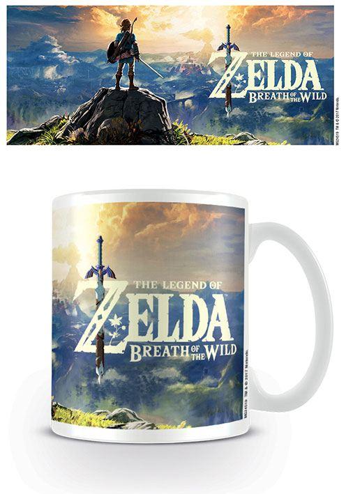 Legend of Zelda Breath of the Wild Mug Sunset