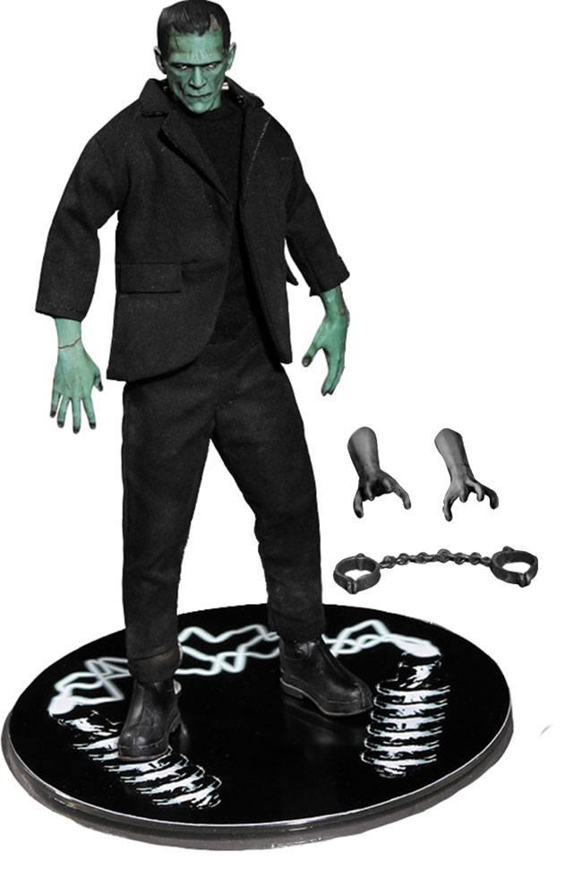 Universal Monsters Action Figure 1/12 Frankenstein Color Ver. Previews Exclusive 15 cm