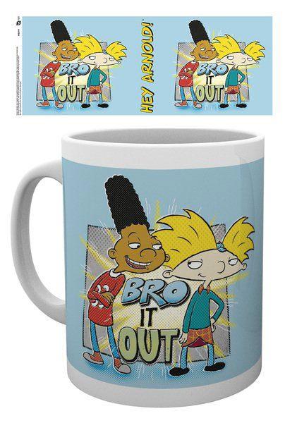 Hey Arnold! Mug Bro It Out