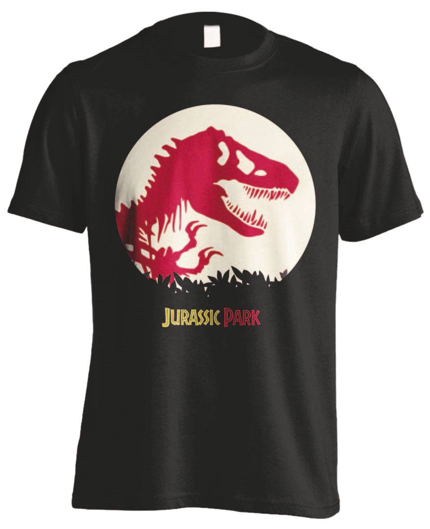 Jurassic Park T-Shirt T-Rex Spotted Size S