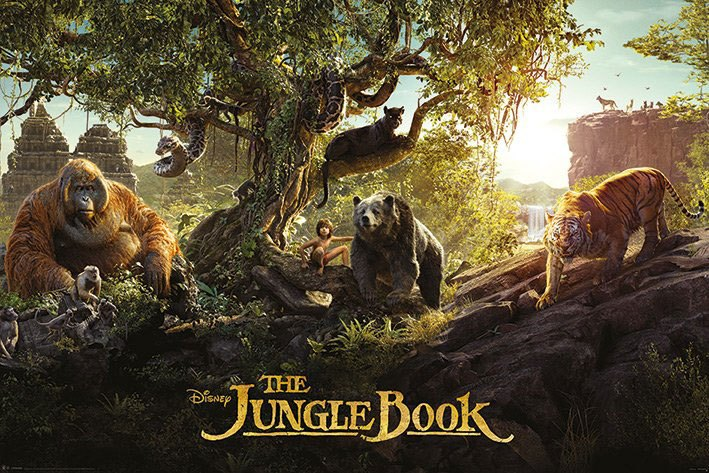 The Jungle Book 2016 Poster Pack Panorama 61 x 91 cm (5)