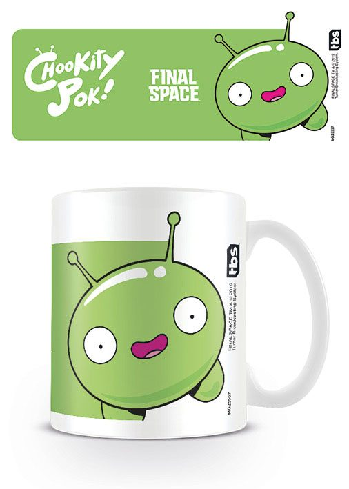 Final Space Mug Mooncake - Chookity Pok
