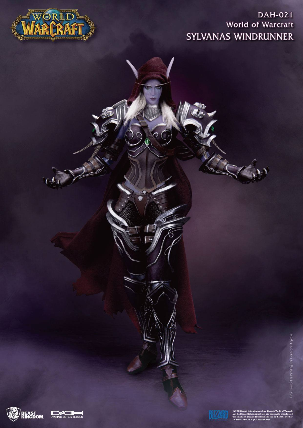 World of Warcraft Battle for Azeroth Dynamic 8ction Heroes Action Figure 1/9 Sylvanas Windrunner 21