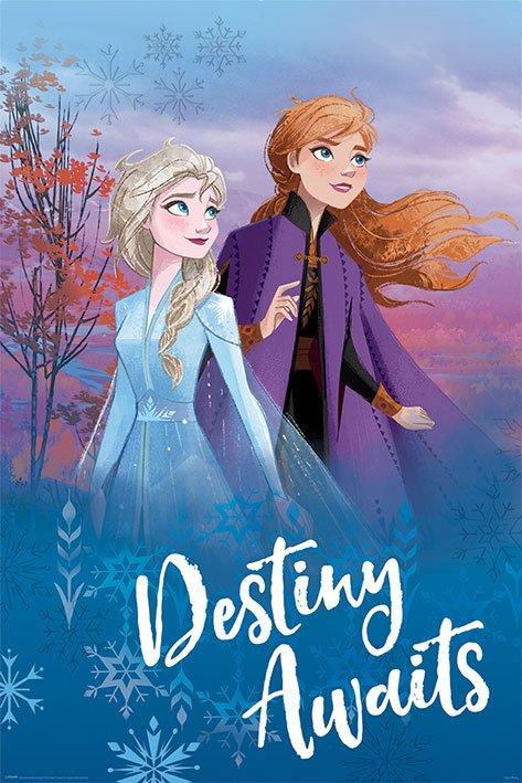 Frozen 2 Poster Pack Destiny Awaits 61 x 91 cm (5)