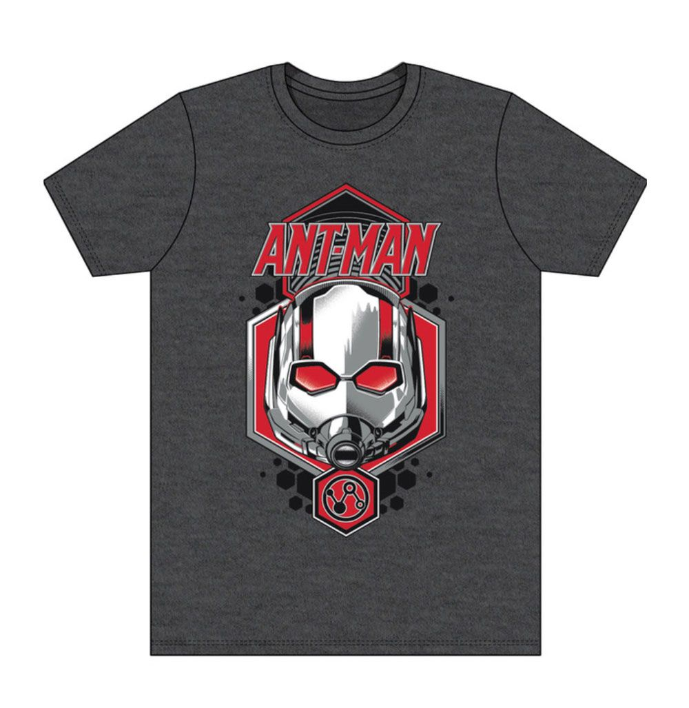 Marvel T-Shirt Ant-Man Head Size L