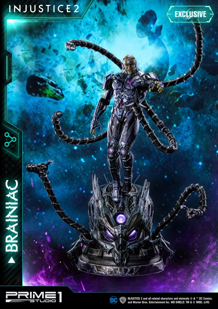 Injustice 2 Statues 1/4 Brainiac & Brainiac Exclusive 75 cm Assortment (3)