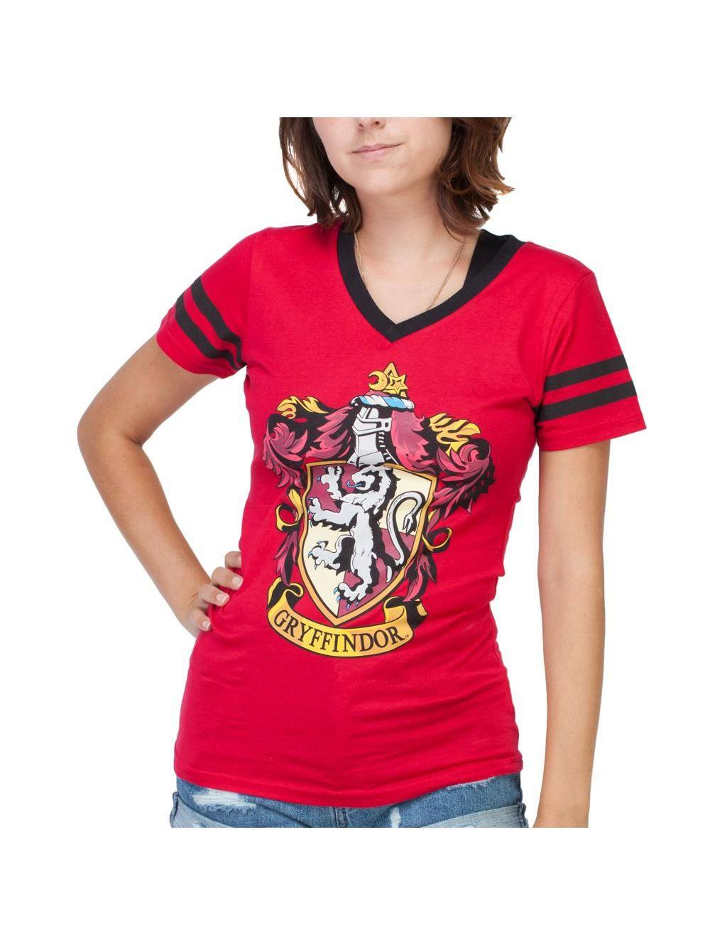 Harry Potter Ladies T-Shirt House Gryffindor Size L