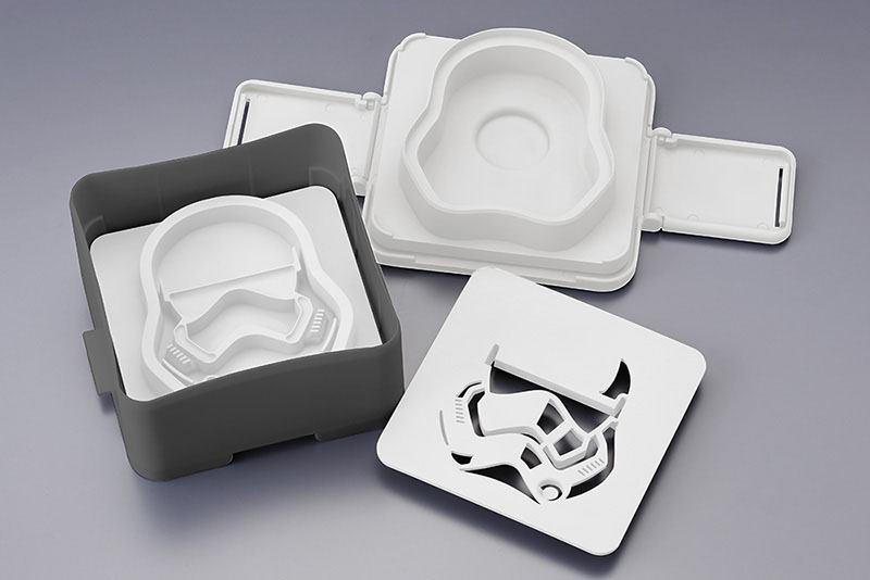 Star Wars Episode VII Pouch Sandwich Shaper First Order Stormtrooper