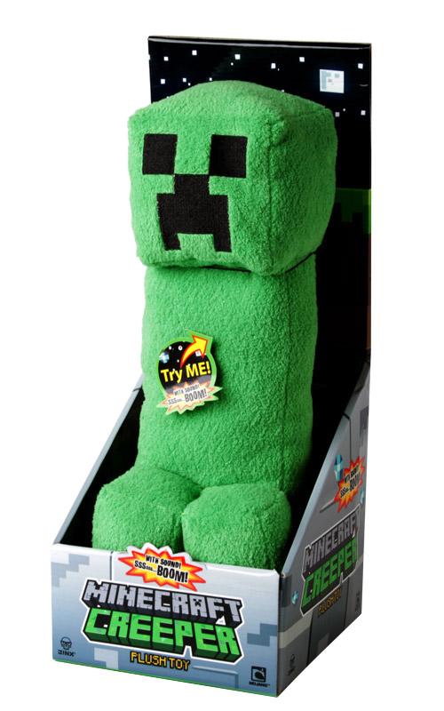 Minecraft Plush Figure with Sound Creeper 36 cm