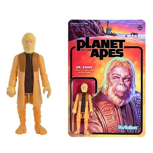 Planet of the Apes ReAction Action Figure Dr. Zaius 10 cm --- DAMAGED PACKAGING