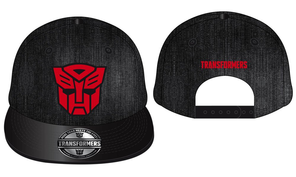 Transformers Adjustable Cap 3D Red Autobot