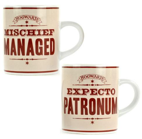 Harry Potter Espresso Mugs Set Expecto Patronum