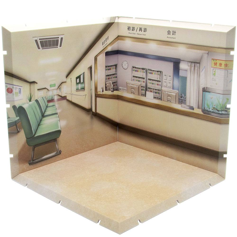 Dioramansion 150 Decorative Parts for Nendoroid and Figma Figures Hospital