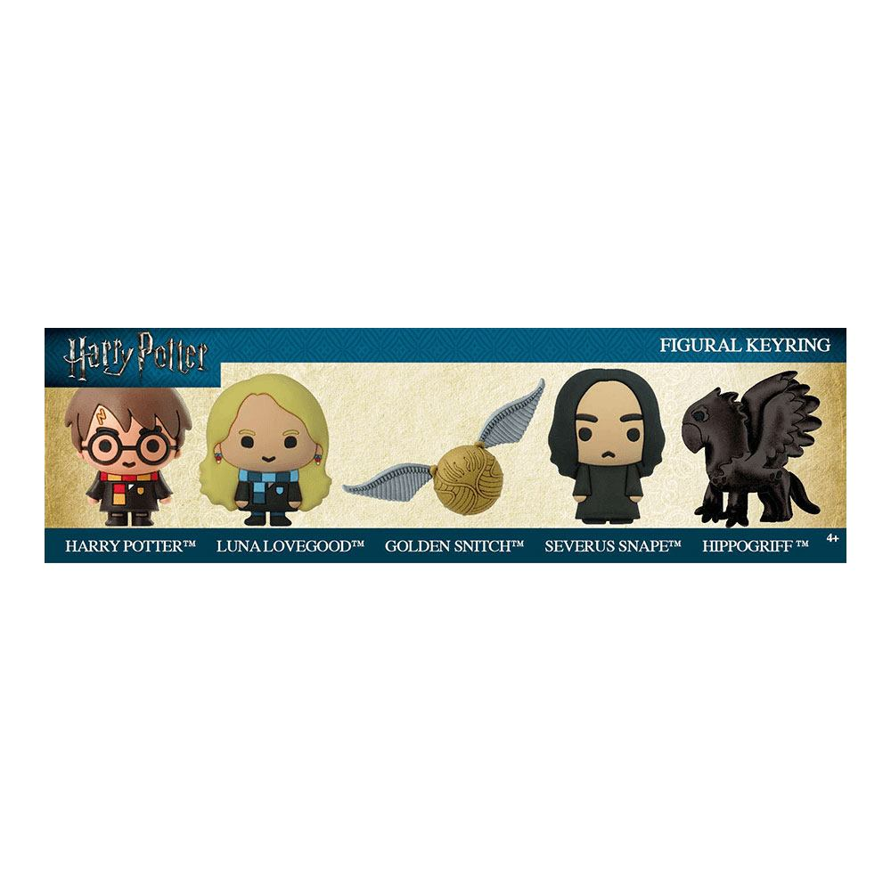 Harry Potter 3D Rubber Keychain 5-Pack Hippogriff Exclusive