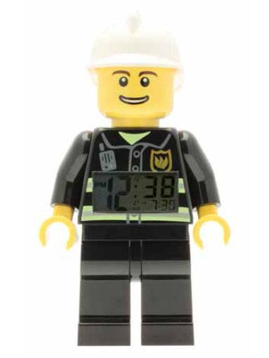 Lego City Alarm Clock Fireman