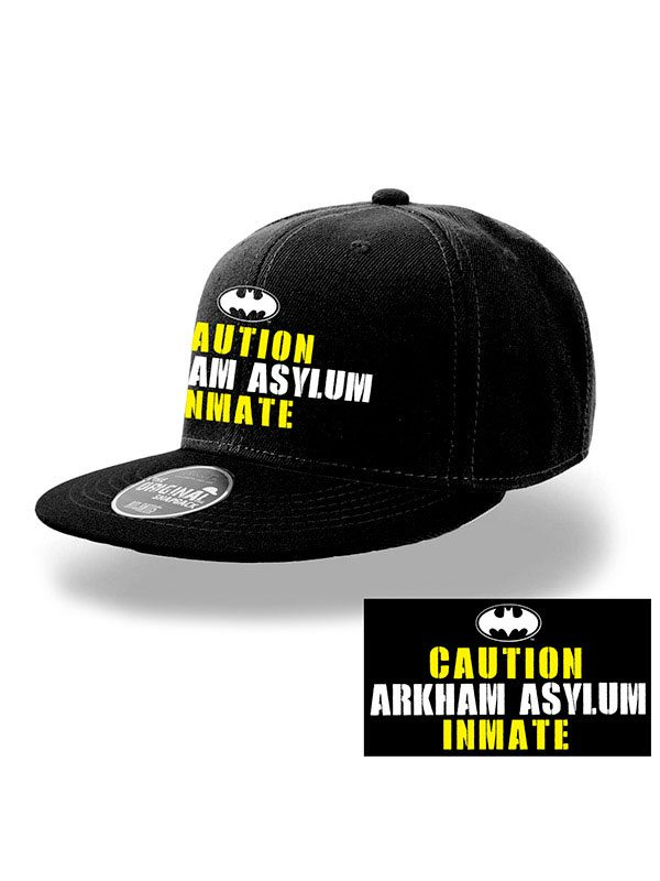 Batman Snap Back Cap Arkham Inmate