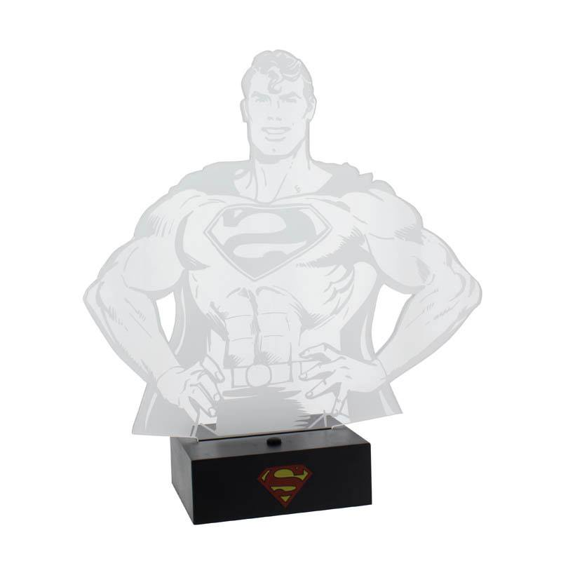 DC Comics LED Light Superman 24 cm