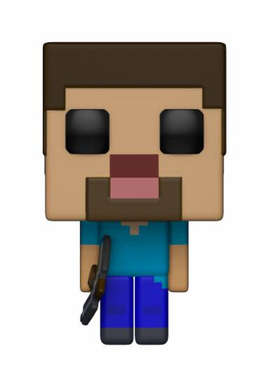 Minecraft POP! Games Vinyl Figure Steve 9 cm