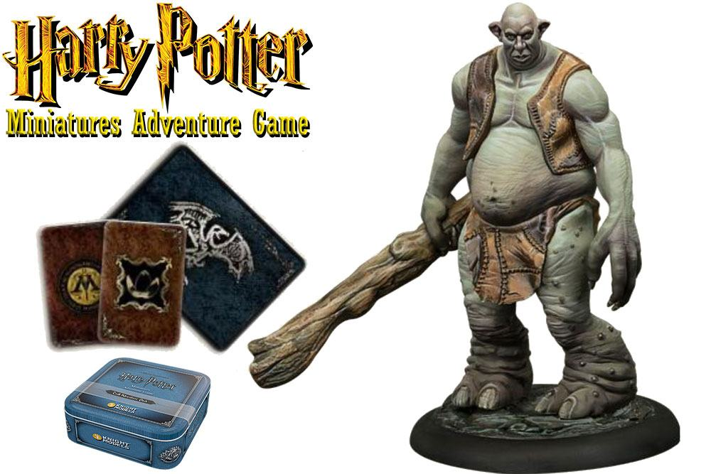 Harry Potter Miniature 35 mm Adventure Pack Troll *English Version*