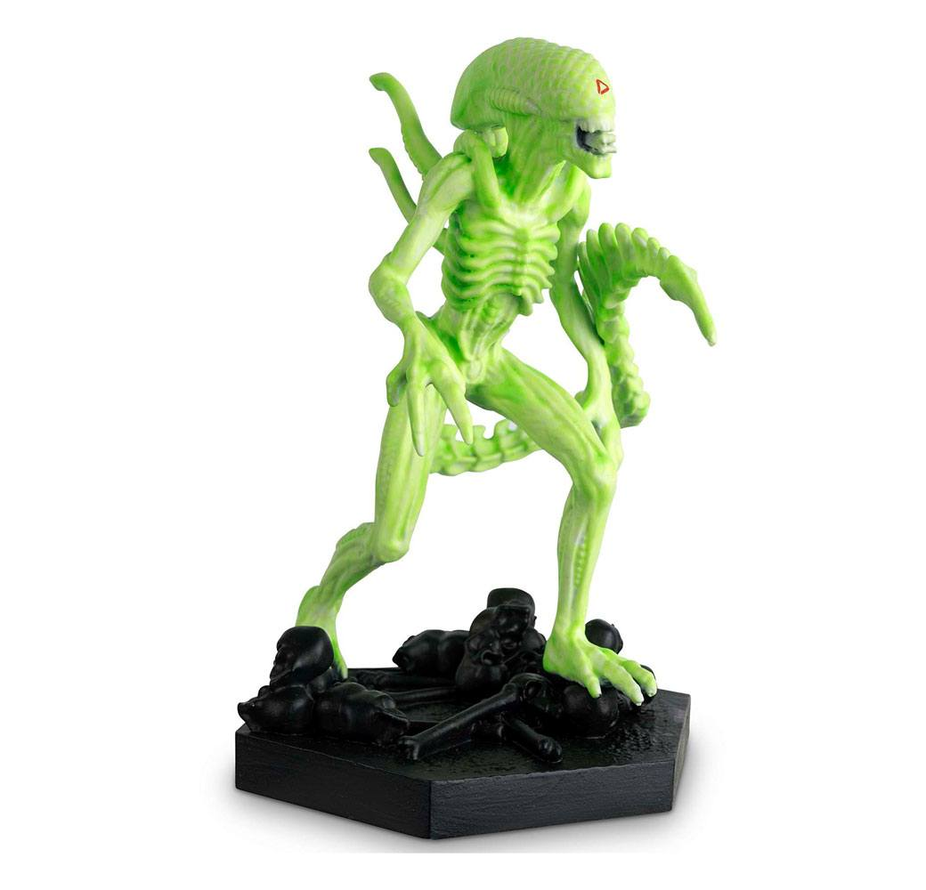 The Alien & Predator Figurine Collection 1/16 Vision Xenomorph (Alien vs. Predator) GITD 14 cm