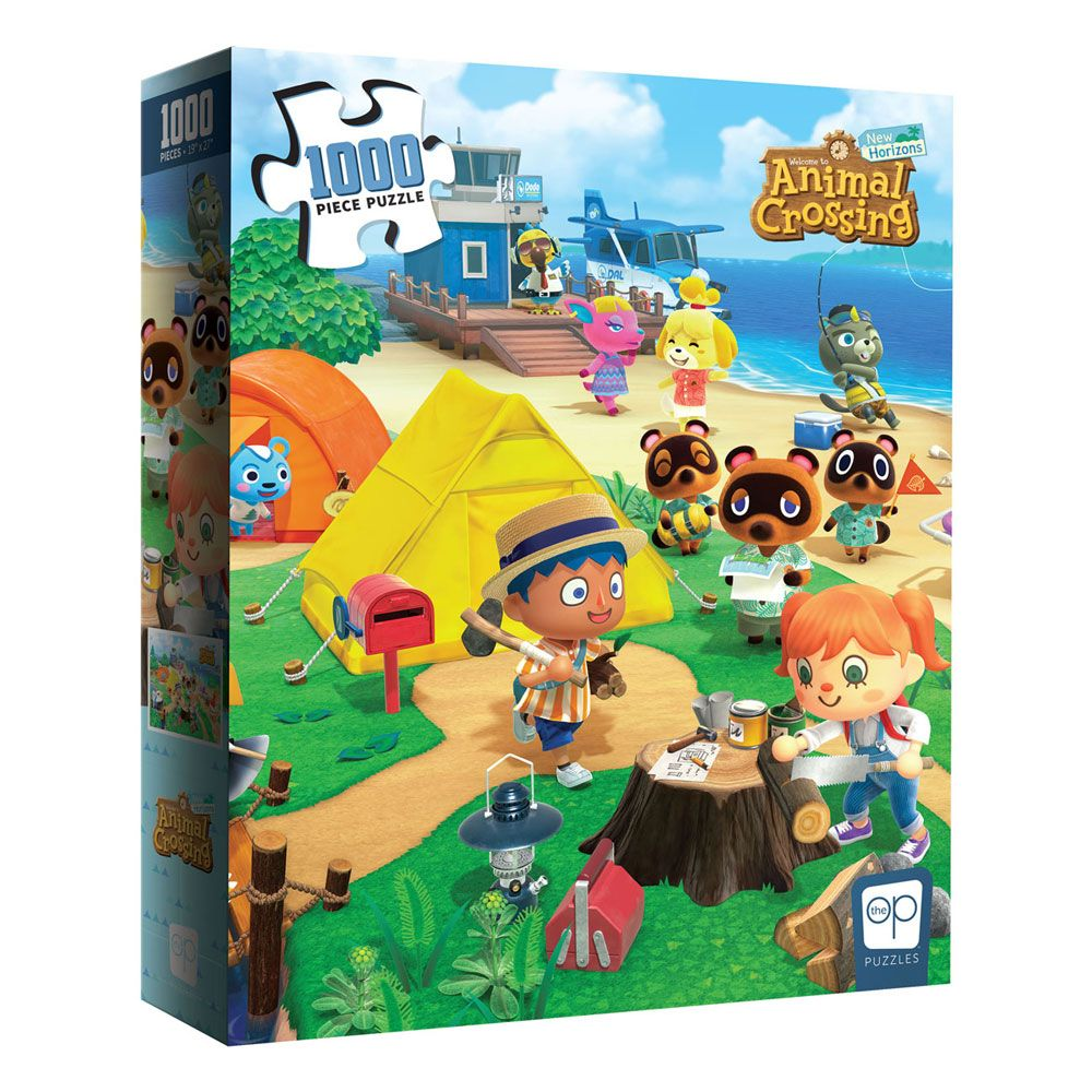 Animal Crossing New Horizons Jigsaw Puzzle Welcome to Animal Crossing (1000 pieces)