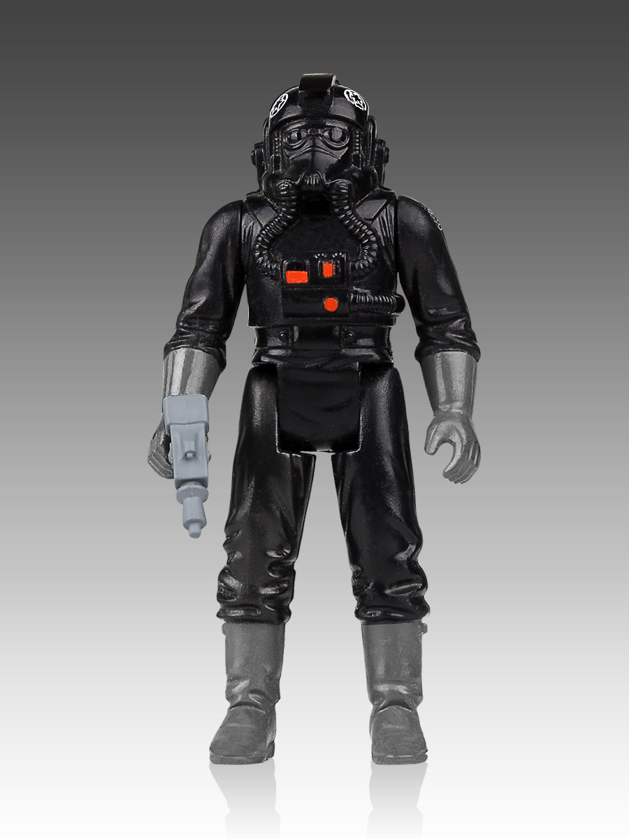 Star Wars Jumbo Vintage Kenner Action Figure Imperial TIE Fighter Pilot 30 cm
