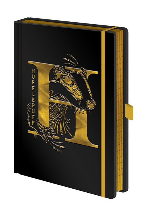 Harry Potter Premium Notebook A5 Hufflepuff Foil