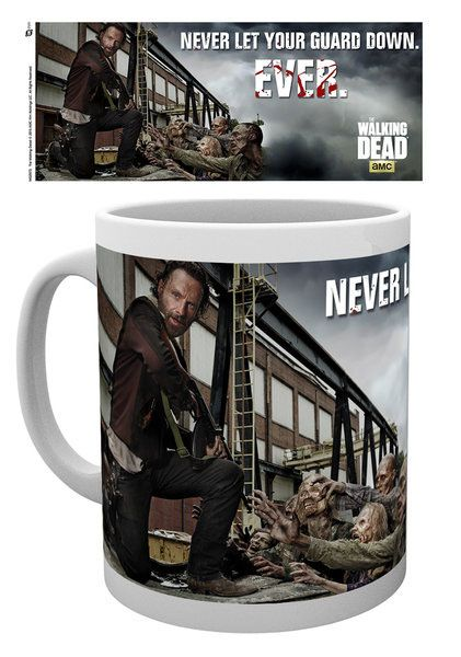 Walking Dead Mug Rick Guard