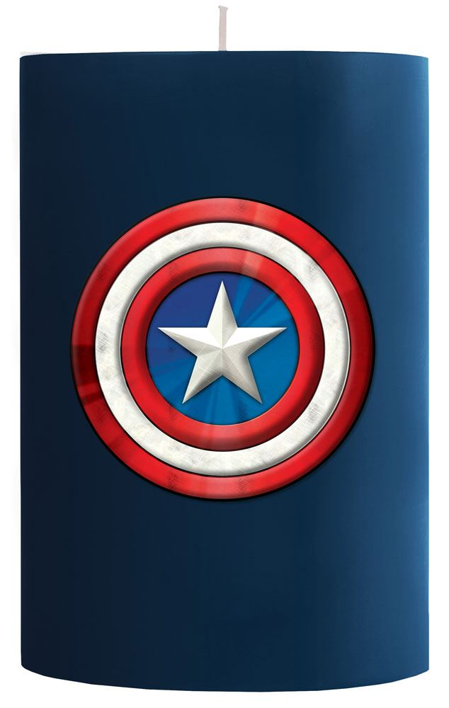 Marvel XL Candle Captain America 15 x 10 cm