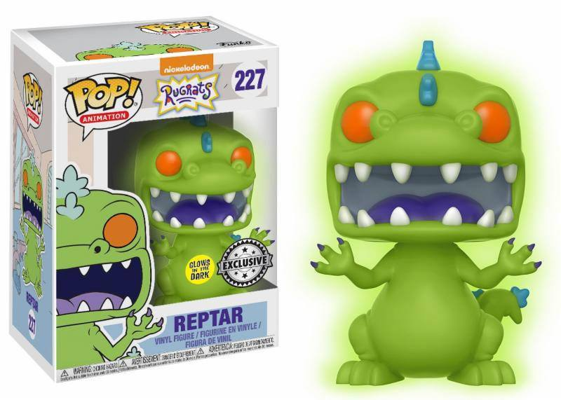 Rugrats POP! Animation Vinyl Figure Reptar GITD 9 cm