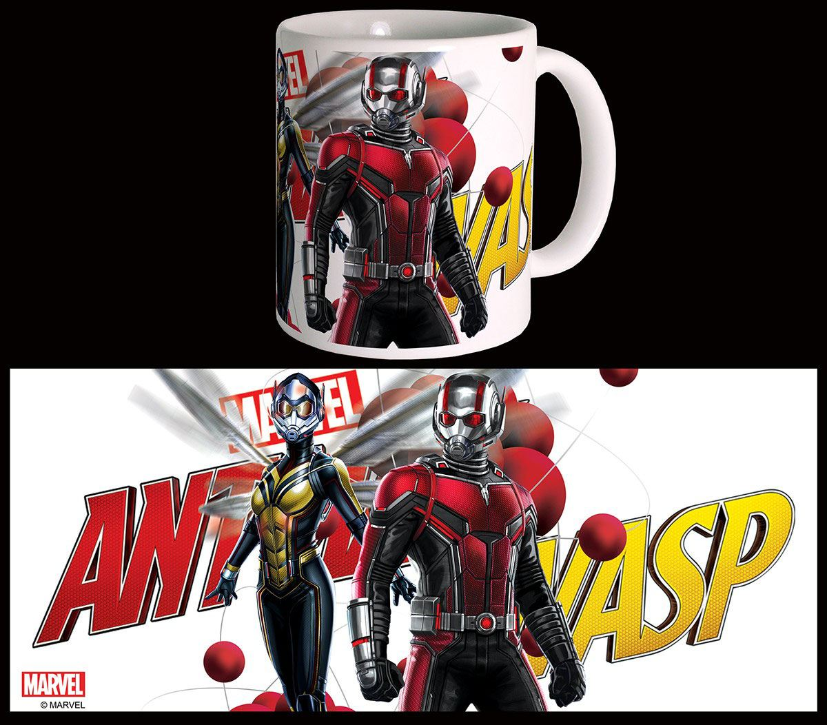 Ant-Man & The Wasp Mug Particles