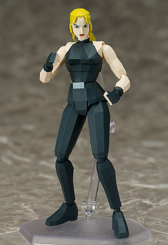 Virtua Fighter Figma Action Figure Sarah Bryant 15 cm --- DAMAGED PACKAGING