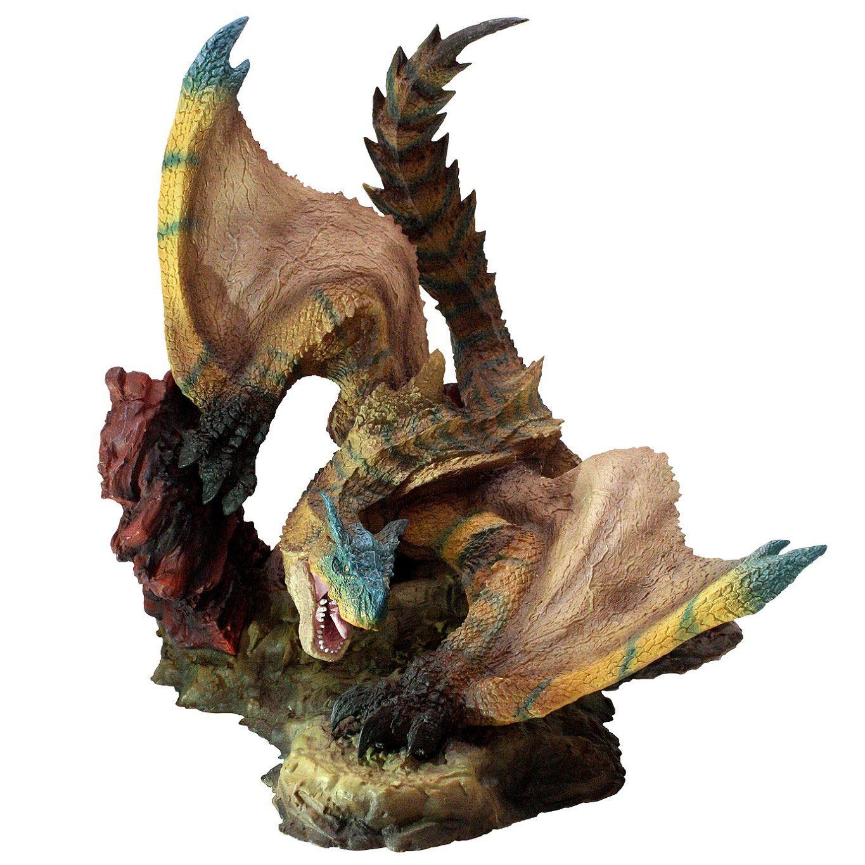 Monster Hunter PVC Statue CFB Creators Model Tigrex Resell Version 20 cm